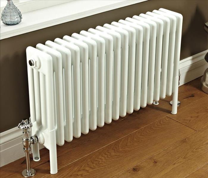 Radiator by window